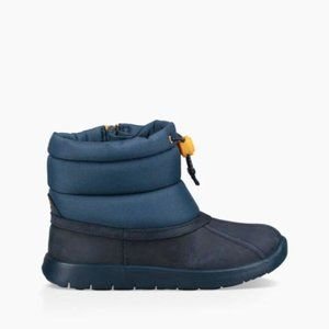 Ugg Waterproof Puffer Boot Navy Blue